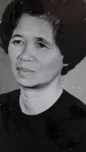My beloved Aunt Lan, taken in 1981 after surviving the Khmer Rouge Genocide